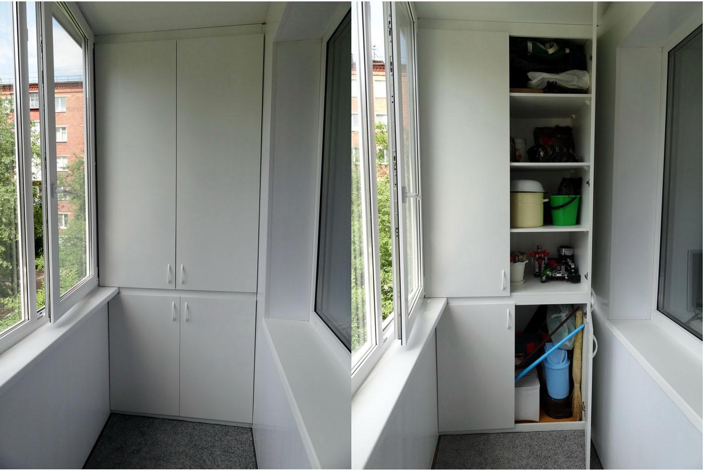 Идеи хранения на балконе или лоджии фото